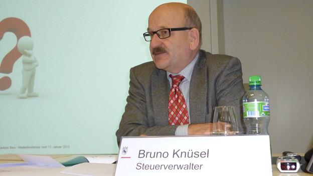 Steuerverwalter Bruno Knüsel