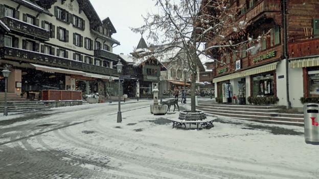 In Gstaad auch erwünscht: ganz normale Touristen
