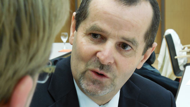 Kantonalbank-Generaldirektor Edgar Jeitziner präsentiert gute Zahlen.