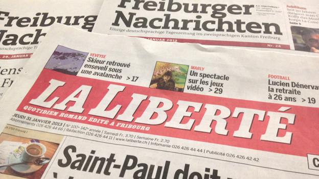 Weil die Freiburger Nachrichten künftig in Bern gedruckt werden, muss auch die Liberté eine neue Druckerei suchen.