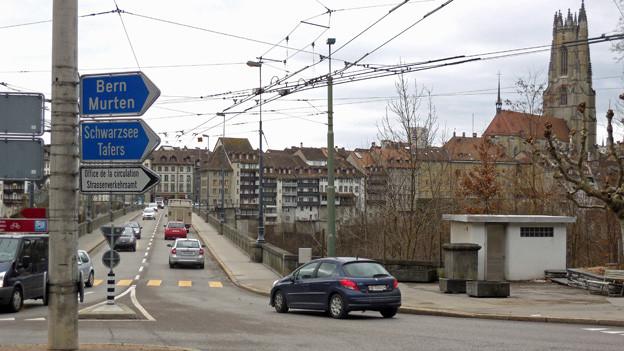 Viele sind mit der geplanten Schliessung der Zähringerbrücke nicht einverstanden.