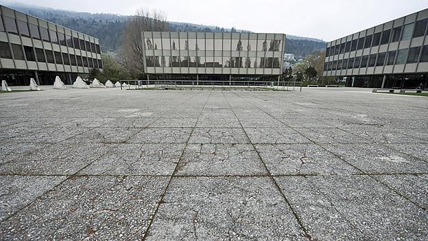 Das Gymnasium Strandboden soll ab 2014 saniert werden.