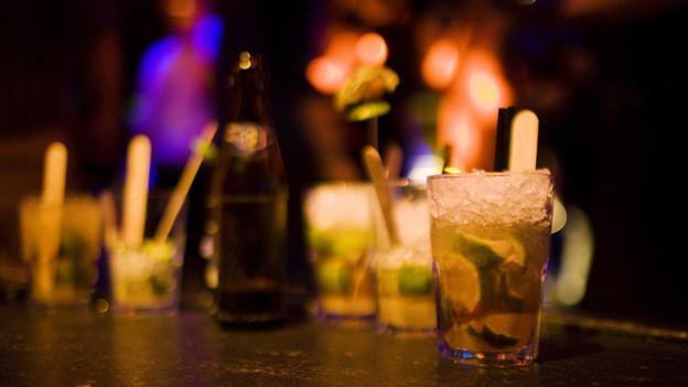 Übermässiger Alkoholkonsum - der Hauptgrund für Probleme im Nachtleben.