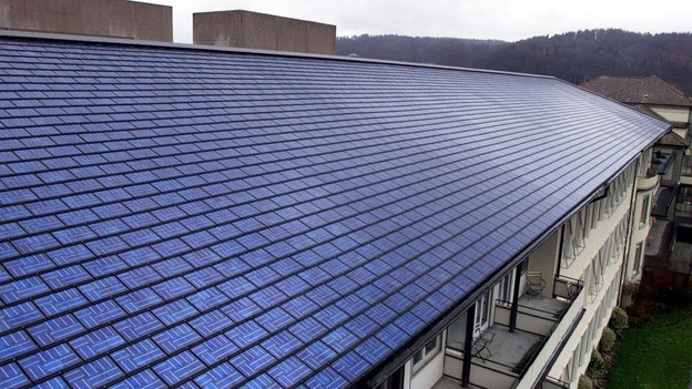 Das Regionalspital Burgdorf hat bereits seit 1999 Solarpanels auf dem Dach.