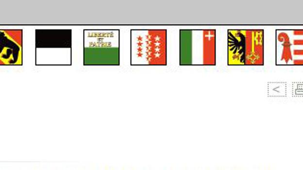 7 Kantone bilden die Westschweizer Regierungskonferenz - seit 20 Jahren.