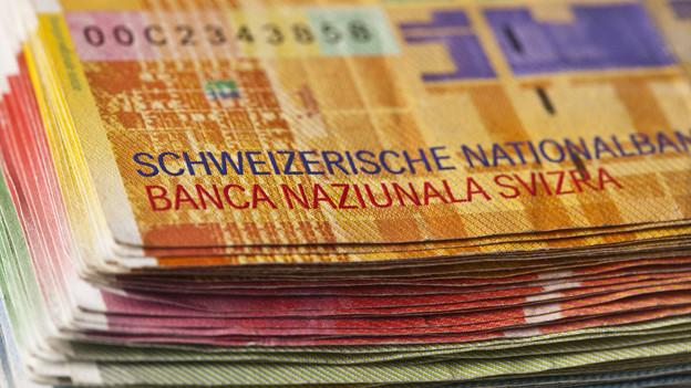 Der Kanton Bern hat weniger Steuern eingenommen als erwartet.
