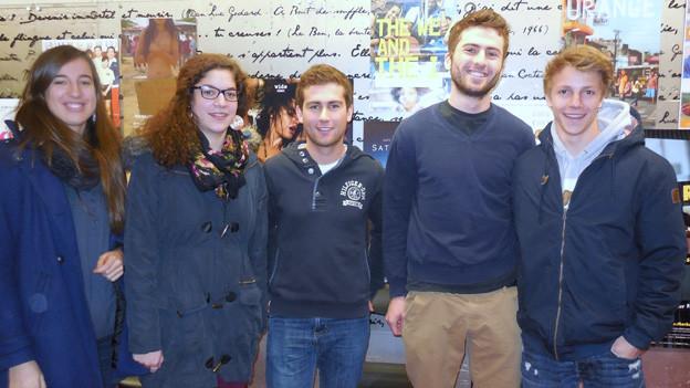 Gymnasiasten auf Freiburg waren beeindruckt vom Film «Hermano» über venezolanische Fussballer.
