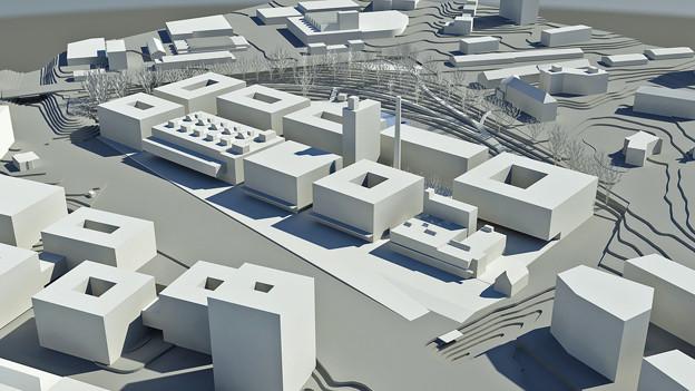 Das Cardinal-Gelände wird umgestaltet: Mitten in Freiburg entsteht ein Innovations- und Technologiepark.