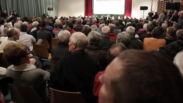 Mehrheitlich positive Rechnungsabschlüsse an Berner Gemeindeversammlungen.