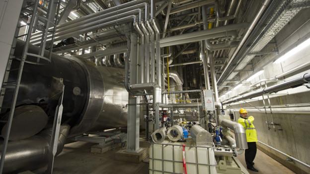 Die Energiezentrale Forsthaus wurde erst kürzlich eingeweiht.