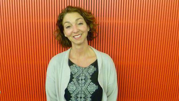 Stefanie Becker vom Institut Alter im SRF-Radiostudio Bern