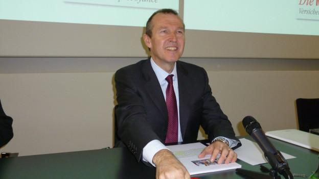 Mobiliar-CEO Markus Hongler ist zufrieden.