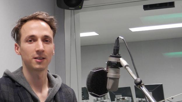 Stefan Guggisberg, Thuner Künstler mit Wohn- und Arbeitsort Leipzig.