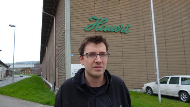 Philipp Hauert führt die Düngerfabirk in 12. Generation.