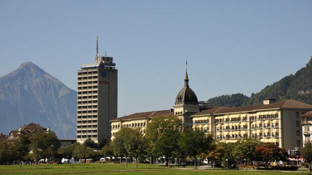 In den Hotels von Interlaken steigen immer mehr Brasilianer ab.