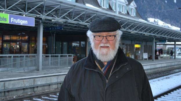 Walter Flühmann ist Projektleiter «100 Jahre Lötschbergbahn»