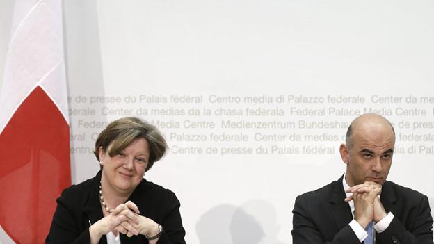 Alain Bersets Wahl: Die Freiburger Staatsrätin Isabelle Chassot wechselt ins Bundsesamt für Kultu