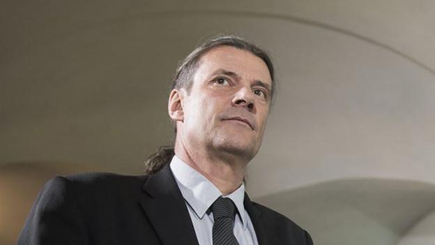 Keine Debatte über das umstrittene Schulgesetz: Oskar Freysinger.