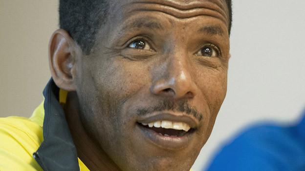 Der Leichtathletik-Weltstar aus Äthiopien.
