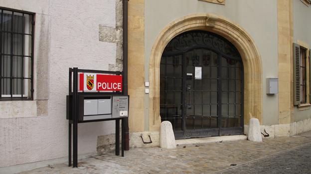 Wie viele andere bleibt auch der Polizeiposten in La Neuveville zwei Tage zu.