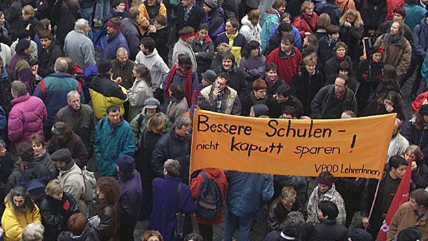 Lehrer ohne Perspektiven: Lohnwünsche werden vom Kantonsparlament nicht erhöhrt.