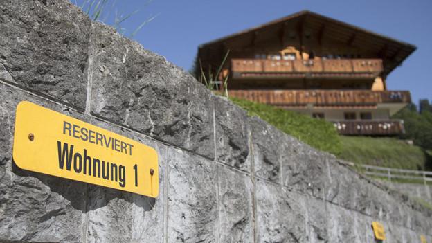 Wer im Kanton Bern eine Zweitwohnung besitzt, soll zu einer Lenkungsabgabe verpflichtet werden.
