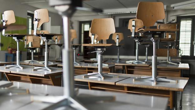 Streiken die Lehrer, bleiben die Klassenzimmer leer.