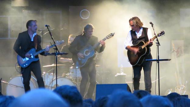 Stephan Eicher und seine Band zogen das Publikum in ihren Bann.