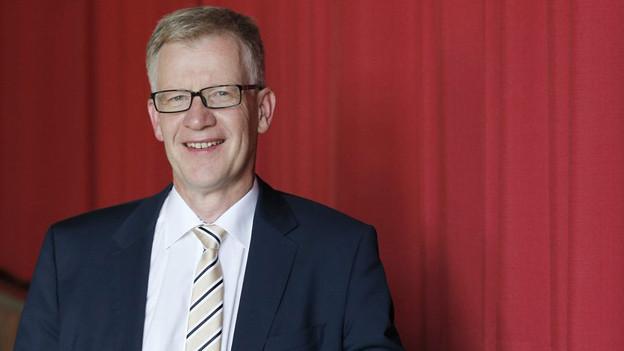 Jean-Pierre Siggen von der CVPsoll bürgerliche Mehrheit retten