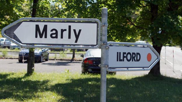 Die Firma Ilford verlässt Marly höchstwahrscheinlich wegen Konkurs.