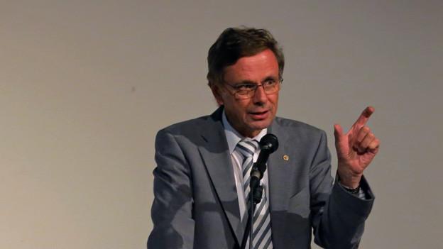 Diskussionslos als FDP-Kandidat bestätigt: Hans-Jürg Käser