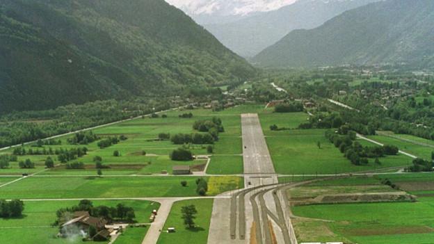 Im Oberwalliser Talgrund soll ein Innovationspark entstehen.
