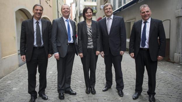 Die Walliser Regierung muss sparen. Für 2014 präsentiert sie ein ausgeglichenes Budget.
