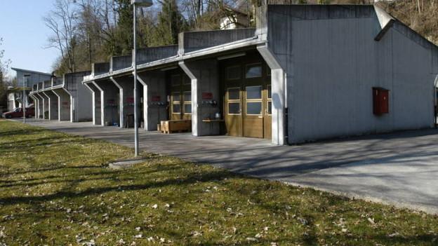 Auf dem Gelände des Feuerwerksherstellers Hamberger am Brienzersee ereignete sich das Unglück.