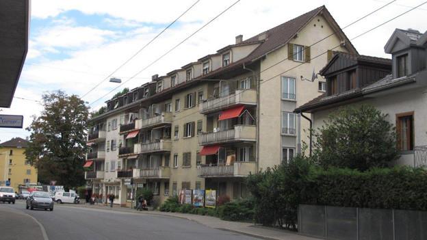 Einige Häuser in Biel sind in einem schlechten Zustand.