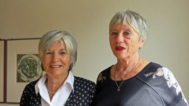 Marie-Louise von Gunten (links) und Leslie Lehmann.