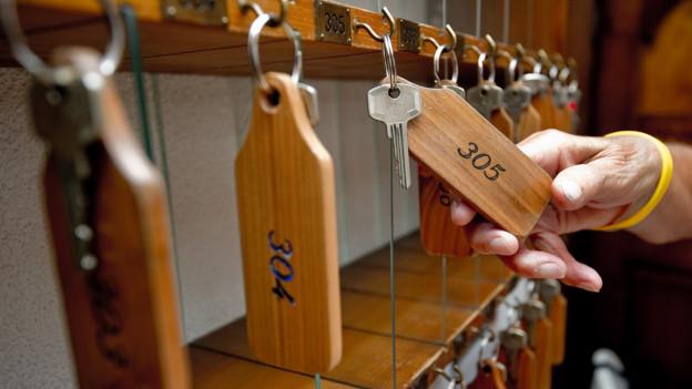 Walliser Hoteliers spüren Preisdruck: Viele Zimmer bleiben leer.