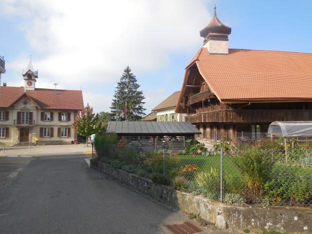 Das Bauerndorf Salvenach.