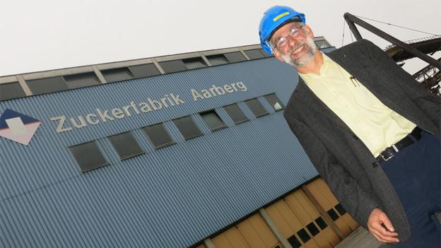 Guido Stäger ist der Direktor der Zuckerfabriken Aarberg und Frauenfeld.