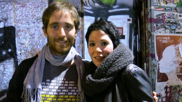 Remo Zumstein aus Burgdorf und Michèle Friedli aus Bern haben es in den Final geschafft.