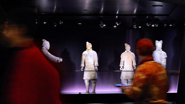 Die Terrakottakrieger aus China können nur noch bis Mitte November in Bern besichtigt werden.