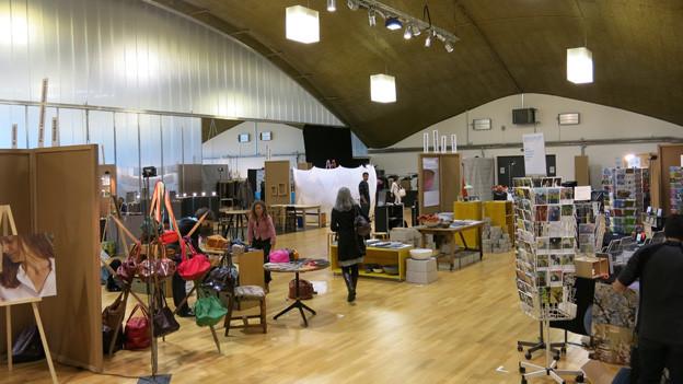Blick in die Designausstellung in Langenthal.