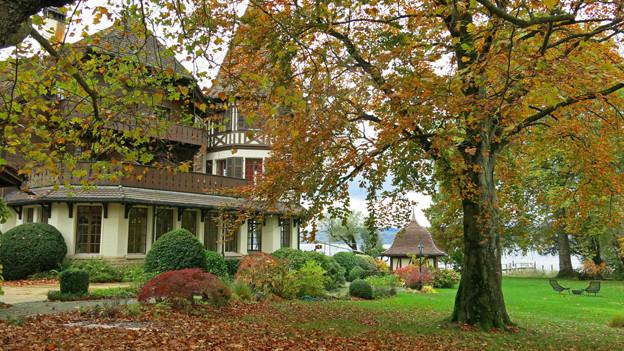 Das einzige Freiburger Fünf-Sterne-Hotel «Le Vieux Manoir».