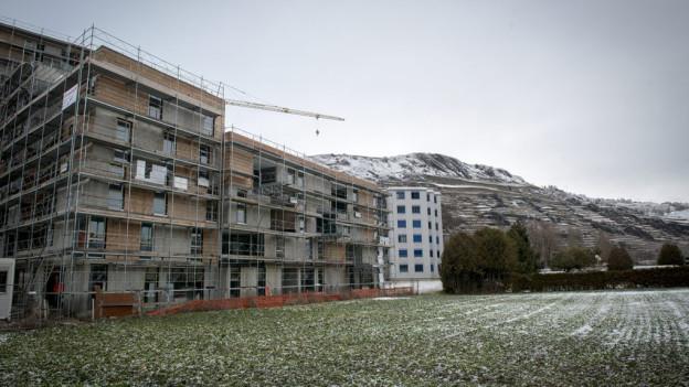 Der Kanton Wallis hat zu viel Bauland eingezont.