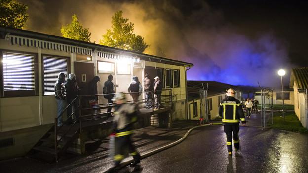 Bereits Mitte Oktober 2013 hat es in der Asylunterkunft La Poya gebrannt.