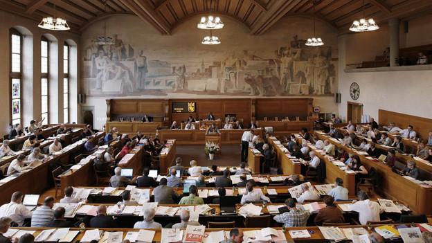 Hitzige Debatte im Berner Rathaus.