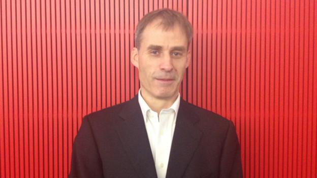 Hubert Steinke, Leiter des medizinischen Instituts an der Uni Bern