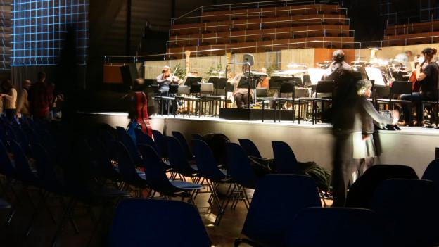 Rheingold macht das Bieler Kongresshaus zur Opernbühne