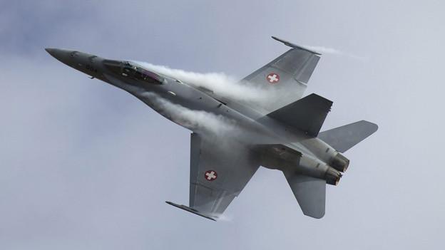 Sitten: Die Luftwaffe macht sich davon.