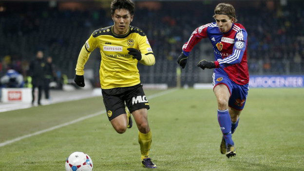 Yuya Kubo enteilt dem FCB.